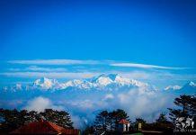 পশ্চিমবঙ্গের সর্বোচ্চ শৃঙ্গ সান্দাকফু